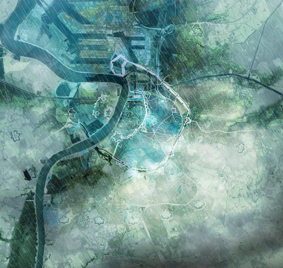 waterplan copyright stad Antwerpen